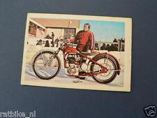 VDH-187 BORIS SAMARODOV JAWA 60 PK SPEEDWAY  PICTURE STAMP ALBUM CARD,ALBUM