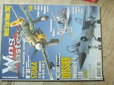 $$w Revue Wing Masters N°32 Stuka  Mirage F-1  Morane Saulnier Type N Bullet