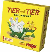 Animal Upon Animal Small and yet Great Games 4911 by HABA