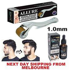 Derma Roller Beard Hair Growth Serum Set 192 1.0mm Titanium Needles Hair Loss