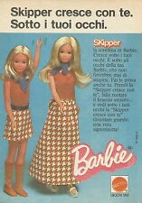 X9386 SKIPPER la sorellina di Barbie - Pubblicità 1975 - Advertising