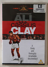 MUHAMMAD ALI AKA CASSIUS CLAY / VINTAGE DOCUMENTARY / MGM REGION 2 PAL