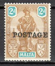 Malta - 1926 Definitive Melita overprinted - Mi. 105 MH
