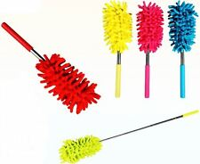 Assorted Colour Extendable Duster Cleaning Brush Telescopic Magic Microfibre