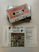THE ROLLING STONES - TIME WAITS FOR NO ONE (RARE PORTUGAL ISSUE CASSETTE TAPE)
