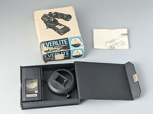 Vintage Everlite Compass Attachment For Binoculars With Box & Papers