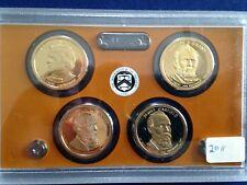 2011-S Presidential Gem Proof Dollar 4 Coin Set E5737