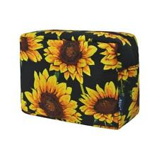 Sunflower NGIL Large Cosmetic Make Up Travel Purse Organizer Pouch NWT Free Ship