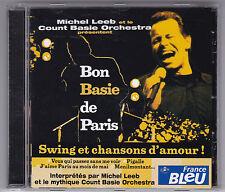 Michel Leeb et le Count Basie Orchestra-bon basie de paris CD 2002/CD comme NEUF!