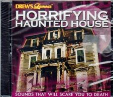 HORRIFYING HAUNTED HOUSE: SUPER SCARY HALLOWEEN SOUND EFFECTS & MUSIC CD! NEW!