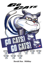 GEELONG CATS PREMIERSHIPS A2 SIZE GLOSSY POSTER + 2 BANNERS (Herald Sun)