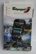 Nuevo Y En Caja Red Pepper Negro Carcasa Protectora Para Samsung Galaxy S3 SIII Impermeable