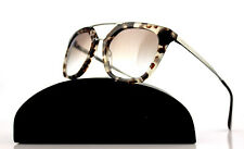 RARE Genuine PRADA CINEMA Collection Spotted Oval Brown Sunglasses PR 13Q UAO1L0