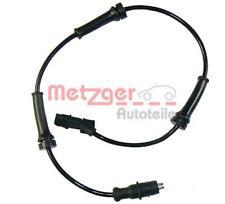 Sensor, Raddrehzahl für Bremsanlage Vorderachse METZGER 0900313