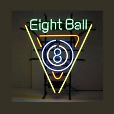 "New Eight Balls Billiards Bar Beer Man Cave Bar Neon Light Sign 20""x16"""