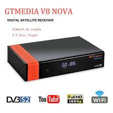 Original GTmedia V8 Nova DVB-S2 Receptor de satélite HD 1080P WIFI incorporado