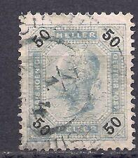 Austria - 1901 - 50 h - (Mi 95Iiib, Sc 81a) - perf 13x13 1/2 - used