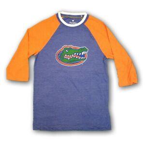 Florida Gators Fanatics NCAA Men's Orange/Blue 3/4's Sleeve T-shirt