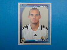 Panini Champions League 2008-09 2009 N.444 SNEIJDER REAL MADRID