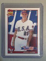 1991 Topps Traded Jason Giambi Rookie Baseball Card #45T