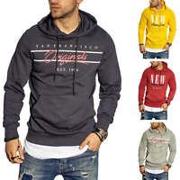 Jack & Jones Herren Hoodie Kapuzenpullover Pullover Sweatshirt Sweater Casual