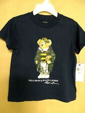 Polo Ralph Lauren Toddler Boys 2T Collegiate Bear Cotton T-Shirt