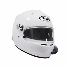 Arai GP-5 (A/C) PED w/ HANS White S SA2005 Car Racing Helmet