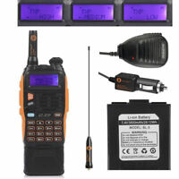 3800mAh Baofeng GT-3TP MarkIII 8W Dual Band V/UHF Two-way Radio + Speaker > GT-3