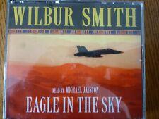 CD AUDIO BOOK  - EAGLE IN THE SKY - Wilbur Smith