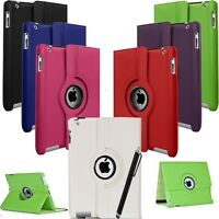 Leather 360 Degree Rotation Smart Stand Case Cover For iPad Air 2 3 4 Mini Pro