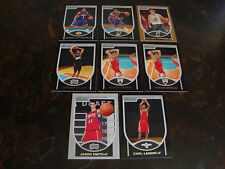 2007-08 Bowman Basketball--Rookies--Lot Of 8--(1 Copper, 1 Silver)--See List