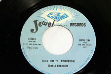 Ernest Franklin: Hold Out Till Tomorrow / We've Come a Long Way [Unplayed Copy]