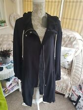 💜💜💜All Saints Womems Black Calla Parka  Medium Bnwt💜💜💜