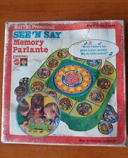 See'n say Mattel vintage