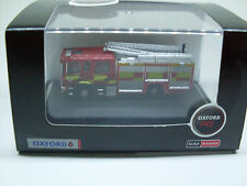 Scania Pump Ladder Essex County F&R, N Gauge, Oxford Car Vehicle Model 1:148