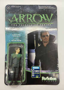 SDCC 2015 ReACTION ARROW UNMASKED FIGURE CW OLIVER QUEEN STEPHEN AMELL SUPER 7