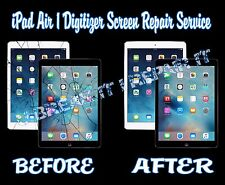 iPad Air 1 Broken Cracked Glass Digitizer Screen Repair Service