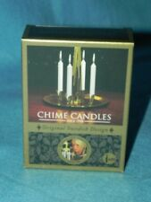 Angel Chime Candles Replacements, Box of 20 White Candles, Original Swedish NEW