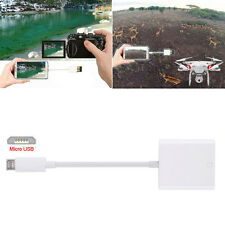 SD Card Reader Compatible OTG Data Cable Digital Camera Kit For Android Phone