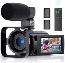 Video Camera Camcorder FamBrow YouTube Camera FHD 1080P 24MP 16X Digital Zoom...