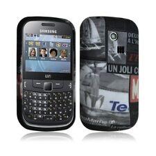Housse coque Gel pour Samsung Chat 335 S3350 avec motif LM17