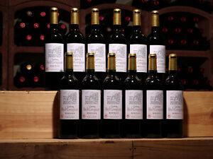 Jetzt bestens! 12 Flaschen Rotwein Bordeaux 2018er Château Haut-Cournillot, Top!