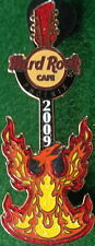 Hard Rock Cafe PHOENIX 2009 Mythical Bird Flames GUITAR PIN - HRC Catalog #47380