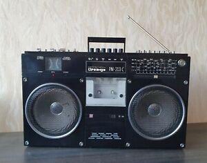 SOVIET BOOMBOX OREANDA RM 203 Cassette Recorder Vintage USSR Works Well