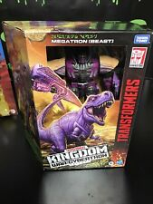 Transformers Gen Kingdom WFC Beast Wars MEGATRON Voyager Factory sealed, New.