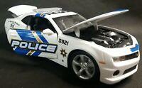 Maisto 2010 Chevrolet Camaro SS/RS POLICE CAR SPECIAL EDITION Diecast 1:18 Scale