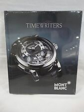 Mont Blanc TIMEWRITERS 2010 Hardcover Catalog Book 164 Pages NEW SEALED