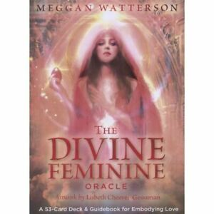 The Divine Feminine Oracle: 53 cards & Guidebook