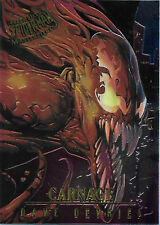 1995 FLEER ULTRA SPIDERMAN MASTERPIECES CARD 1 OF 9 CARNAGE