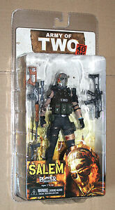 NECA ARMY OF TWO 40TH DAY SALEM  PLAYER SELECT  ACTION FIGURE FIGUR NEU / OVP